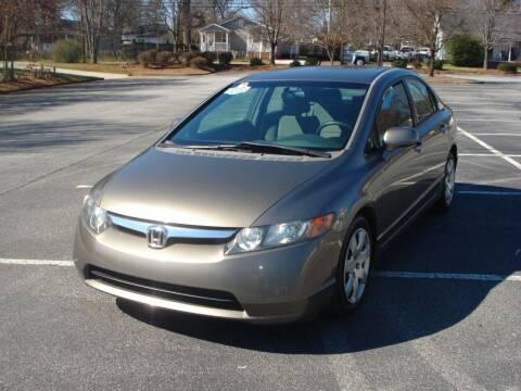 2006 Honda Civic for sale at Uniworld Auto Sales LLC. in Greensboro NC