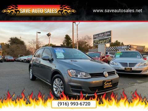 2015 Volkswagen Golf for sale at Save Auto Sales in Sacramento CA