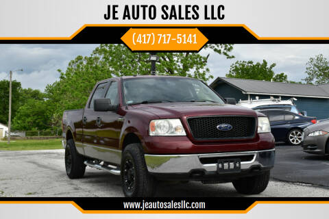 2006 Ford F-150 for sale at JE AUTO SALES LLC in Webb City MO