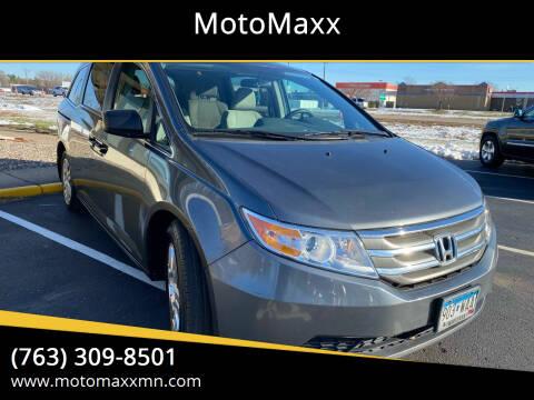 2012 Honda Odyssey for sale at MotoMaxx in Spring Lake Park MN