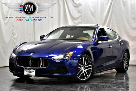 2017 Maserati Ghibli for sale at ZONE MOTORS in Addison IL
