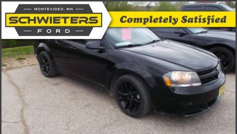 2014 Dodge Avenger for sale at Schwieters Ford of Montevideo in Montevideo MN