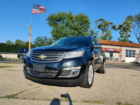 2014 Chevrolet Traverse for sale at Lamarina Auto Sales in Dearborn Heights MI