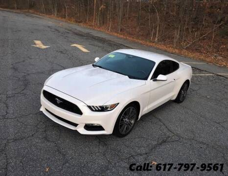 2017 Ford Mustang for sale at Wheeler Dealer Inc. in Acton MA