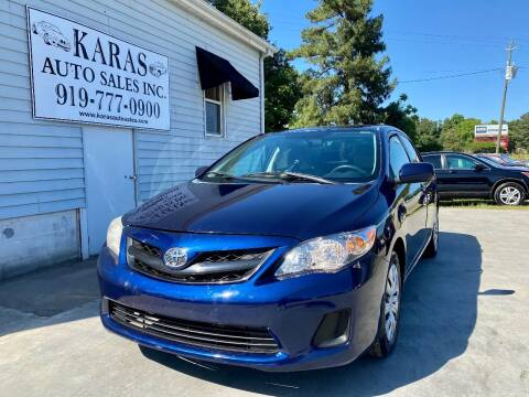 2013 Toyota Corolla for sale at Karas Auto Sales Inc. in Sanford NC