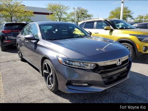 2018 Honda Accord for sale at BOB ROHRMAN FORT WAYNE TOYOTA in Fort Wayne IN