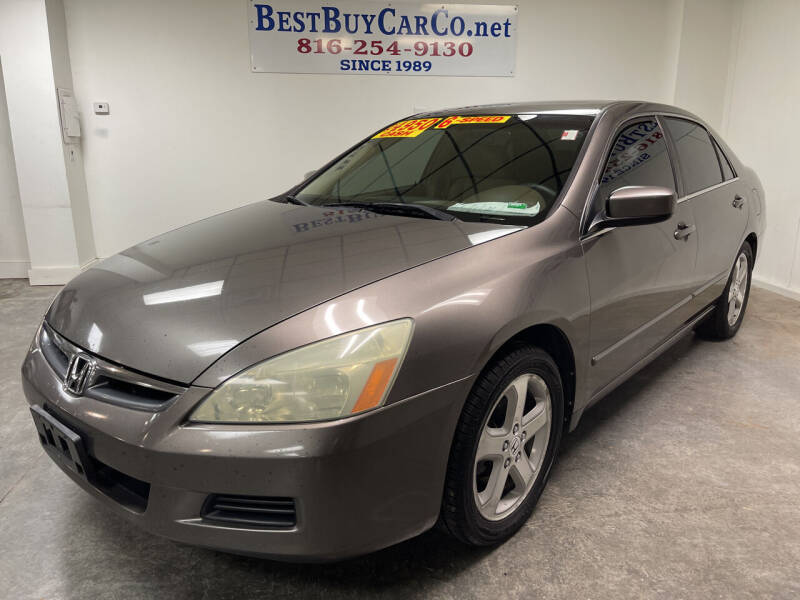 2007 Honda Accord for sale at Best Buy Car Co in Independence MO