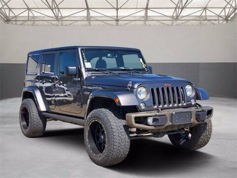 2016 Jeep Wrangler Unlimited for sale at Gregg Orr Pre-Owned Shreveport in Shreveport LA