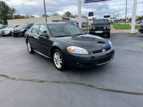 2013 Chevrolet Impala for sale at Summit Palace Auto in Waterford MI
