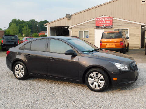 2014 Chevrolet Cruze for sale at Macrocar Sales Inc in Akron OH