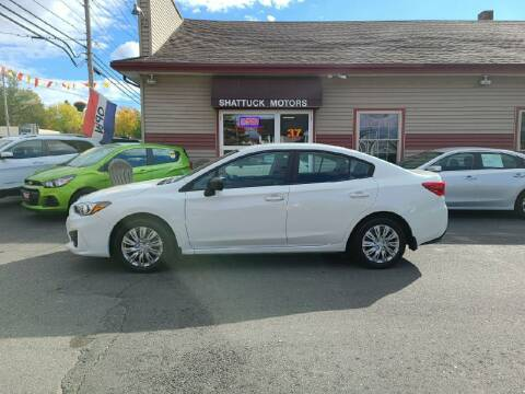 2019 Subaru Impreza for sale at Shattuck Motors in Newport VT