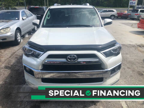 2017 Toyota 4Runner for sale at Louie's Auto Sales in Leesburg FL