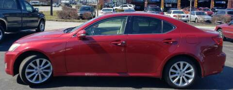 2009 Lexus IS 250 for sale at Rayyan Auto Sales LLC in Lexington KY