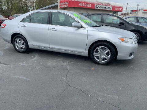 2011 Toyota Camry for sale at Doug White's Auto Wholesale Mart in Newton NC