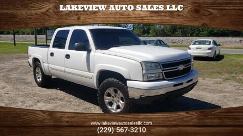 2006 Chevrolet Silverado 1500 for sale at Lakeview Auto Sales LLC in Sycamore GA