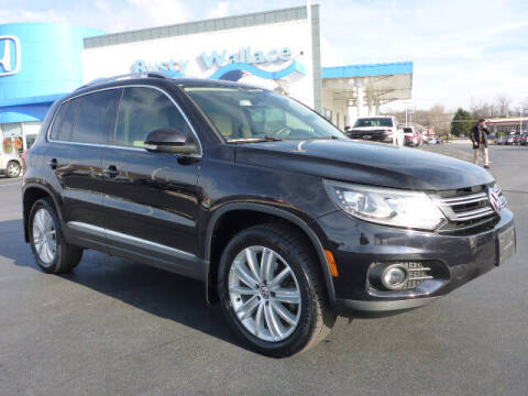 2016 Volkswagen Tiguan for sale at RUSTY WALLACE HONDA in Knoxville TN