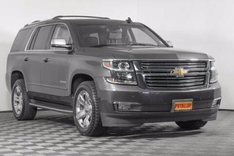 2017 Chevrolet Tahoe for sale at Washington Auto Credit in Puyallup WA