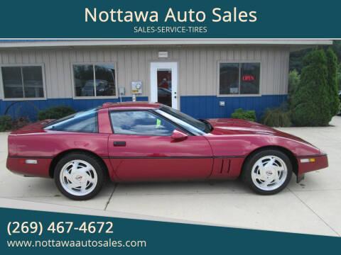1989 Chevrolet Corvette for sale at Nottawa Auto Sales in Nottawa MI