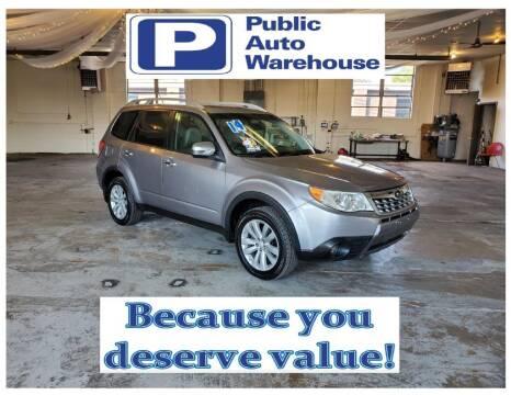2011 Subaru Forester for sale at Public Auto Warehouse in Pekin IL