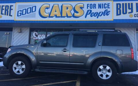 2005 Nissan Pathfinder for sale at Good Cars 4 Nice People in Omaha NE