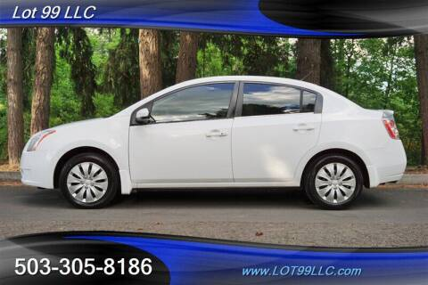 2008 Nissan Sentra for sale at LOT 99 LLC in Milwaukie OR
