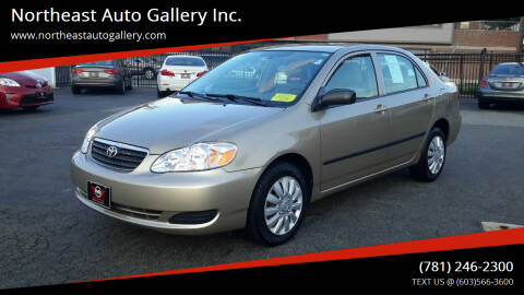 2008 Toyota Corolla for sale at Northeast Auto Gallery Inc. in Wakefield MA