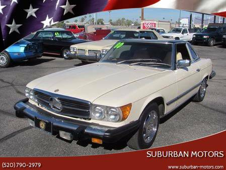 1980 Mercedes-Benz 450 SL for sale at Suburban Motors in Tucson AZ