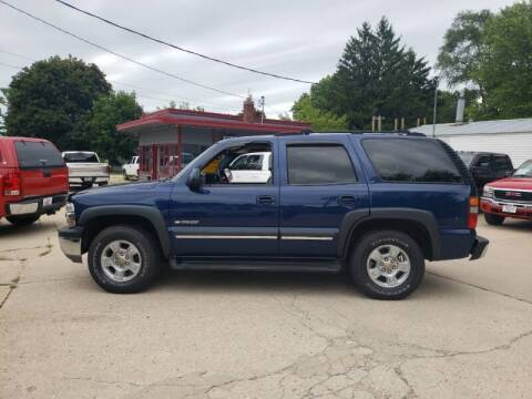 2002 Chevrolet Tahoe for sale at Stach Auto in Edgerton WI