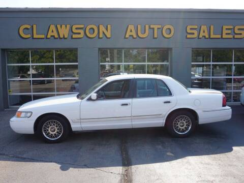 2000 Mercury Grand Marquis for sale at Clawson Auto Sales in Clawson MI
