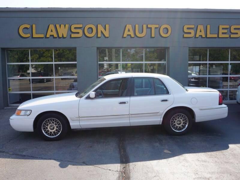 2000 Mercury Grand Marquis for sale at Clawson Auto Sales in Clawson MI