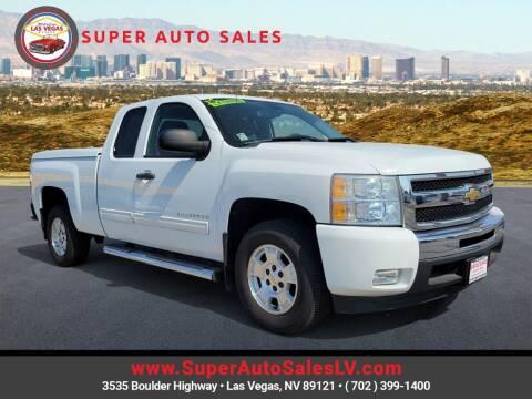 2011 Chevrolet Silverado 1500 for sale at Super Auto Sales in Las Vegas NV