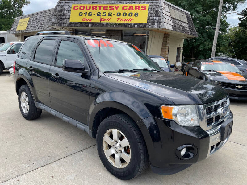 2010 Ford Escape for sale at Courtesy Cars in Independence MO
