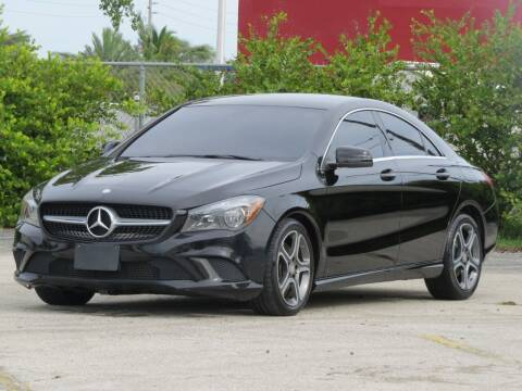 2014 Mercedes-Benz CLA for sale at DK Auto Sales in Hollywood FL