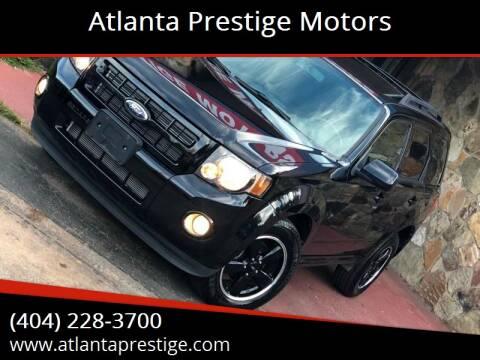 2009 Ford Escape for sale at Atlanta Prestige Motors in Decatur GA