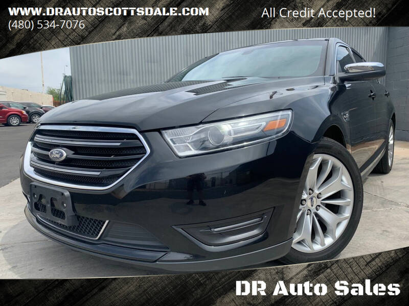 2015 Ford Taurus for sale at DR Auto Sales in Scottsdale AZ