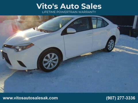 2014 Toyota Corolla for sale at Vito's Auto Sales in Anchorage AK