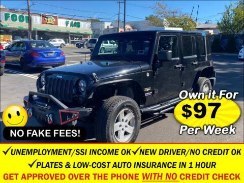 2013 Jeep Wrangler Unlimited for sale at AUTOFYND in Elmont NY