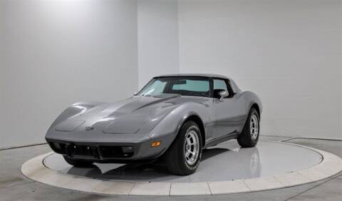 1978 Chevrolet Corvette for sale at Mershon's World Of Cars Inc in Springfield OH