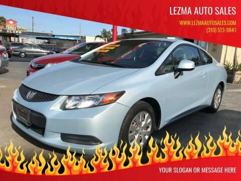 2012 Honda Civic for sale at Auto Emporium in Wilmington CA