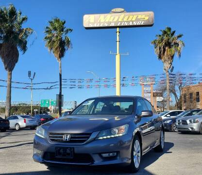 2013 Honda Accord for sale at A MOTORS SALES AND FINANCE - 5630 San Pedro Ave in San Antonio TX