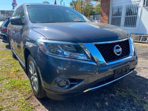 2013 Nissan Pathfinder for sale at GRAND USED CARS  INC in Little Ferry NJ