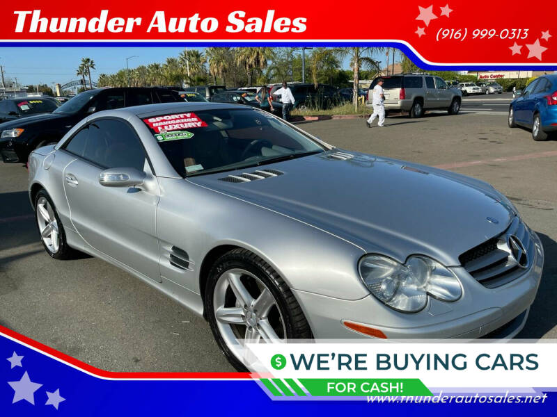 2005 Mercedes-Benz SL-Class for sale at Thunder Auto Sales in Sacramento CA