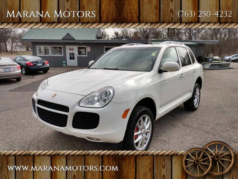2004 Porsche Cayenne for sale at Marana Motors in Princeton MN