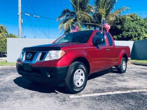 2015 Nissan Frontier for sale at Venmotors LLC in Hollywood FL