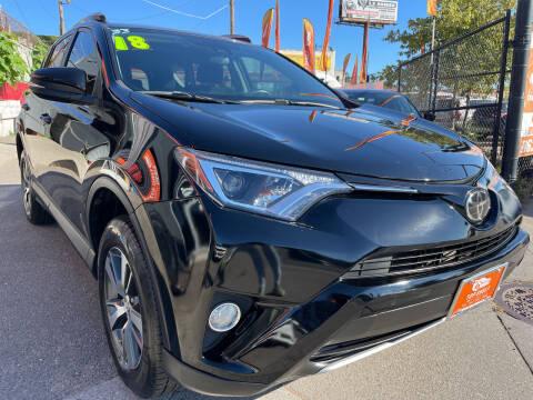 2018 Toyota RAV4 for sale at TOP SHELF AUTOMOTIVE in Newark NJ