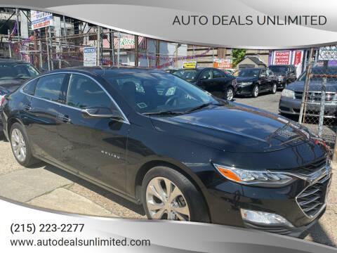 2019 Chevrolet Malibu for sale at AUTO DEALS UNLIMITED in Philadelphia PA