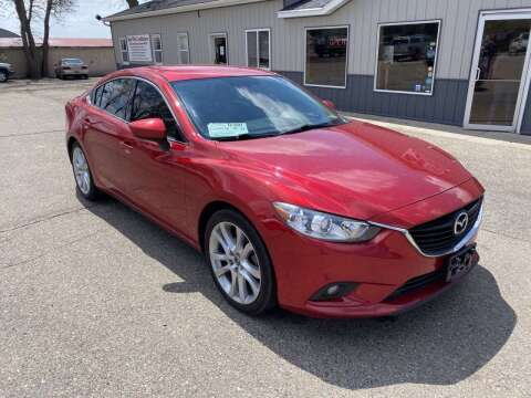 2015 Mazda MAZDA6 for sale at B & B Auto Sales in Brookings SD