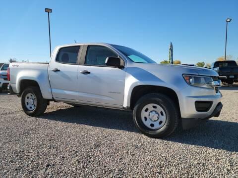 2017 Chevrolet Colorado for sale at BERKENKOTTER MOTORS in Brighton CO