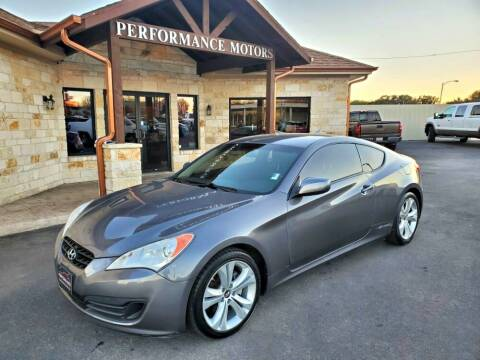 2011 Hyundai Genesis Coupe for sale at Performance Motors Killeen Second Chance in Killeen TX