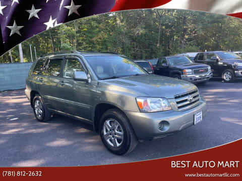 2006 Toyota Highlander for sale at Best Auto Mart in Weymouth MA